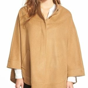 NWOT Charles Gray London Camel hair blend cape